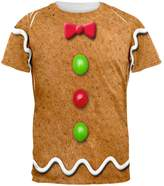Old Glory Gingerbread Man Costume All Over Adult T-Shirt - 2X-Large