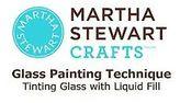 Martha Stewart Frost Translucent Glass Paint 2-ounce Summer Linen Summer Linen
