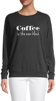 South Parade Coffee Graphic Print Sweatshirt