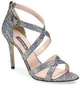 Sjp By Sarah Jessica Parker Strut Strappy Sparkle Sandals