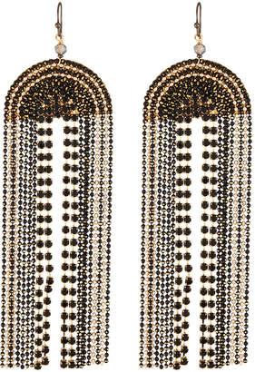 Nakamol Long Tassel 2-Strand Earrings