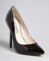 KORS Michael Kors Pointed Toe Platform Pumps - Aberly High Heel