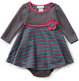 Bonnie Jean Baby Girls 12-24 Months Striped A-line Dress