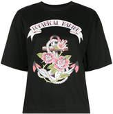 G.V.G.V. oversized Botanical Marine printed T-shirt