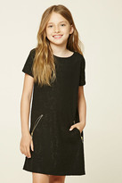 Forever 21 FOREVER 21+ Girls Zip-Pocket Dress (Kids)