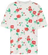 Balenciaga Floral cotton T-shirt