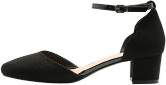 M&Co Cellie block heel ankle strap heel