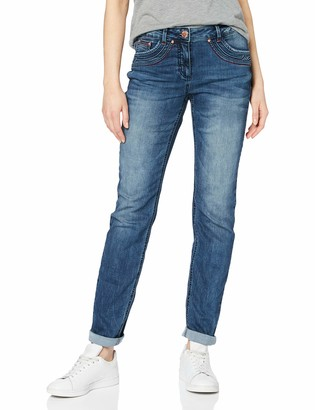 Cecil Women's 372738 Charlize Slim Fit Jeans