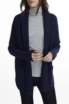 White + Warren Cashmere Luxe Stitch Coatigan