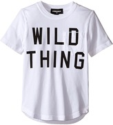 DSQUARED2 Short Sleeve 'Wild Thing' Pocket Tee Boy's T Shirt
