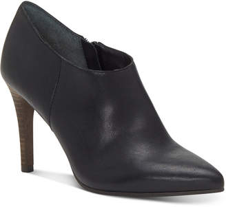 Lucky Brand Tirae Pointed-Toe Leather Shootie Women Shoes