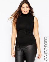 Asos Sleeveless High Neck Top