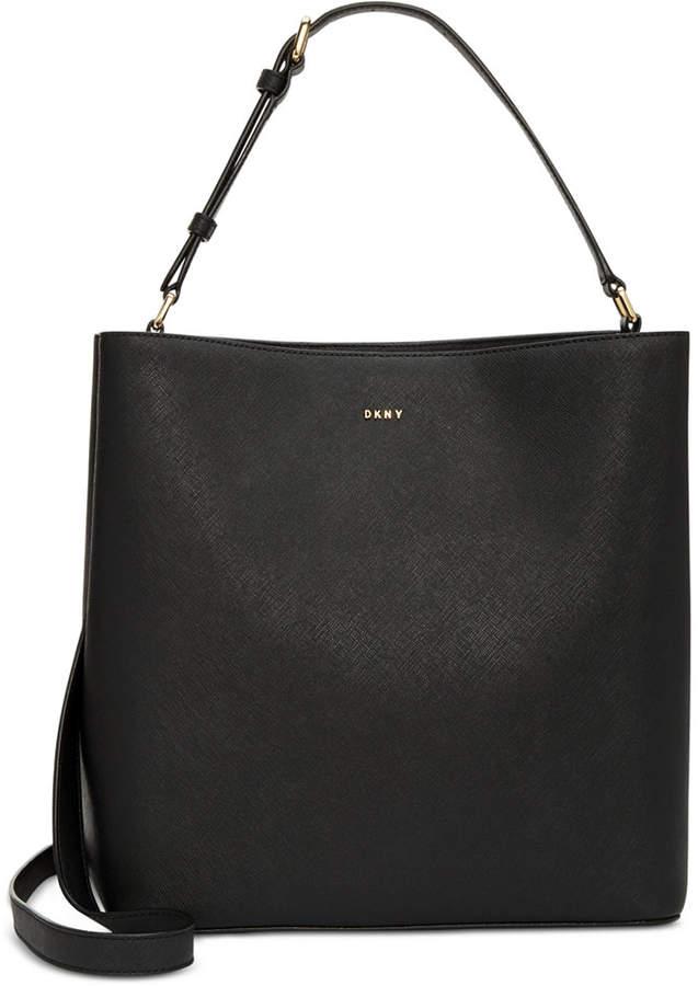 DKNY Samara Small North South Bucket Bag, Created for Macy's