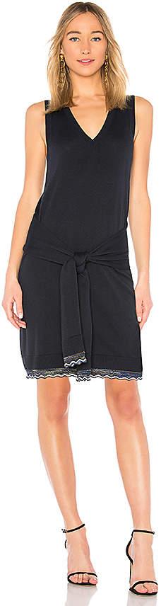 Derek Lam 10 Crosby Tie Waist Knit Dress