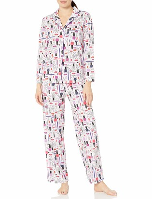 Karen Neuburger Women's Long-Sleeve Pajama Set PJ with Sweat Wicking Technology