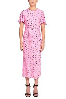 Rebecca Vallance Ruby S/S Midi Dress Dj'S Excl