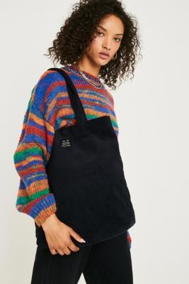 Urban Outfitters Corduroy Tote Bag - Black ALL at