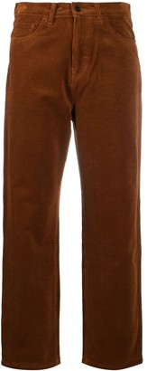 Carhartt Work In Progress Straight-Leg Velvet Trousers