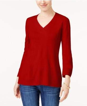 Karen Scott V-Neck Sweater, Created for Macy's