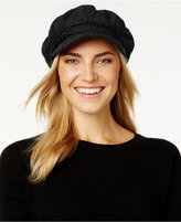 Nine West Boucle Newsboy Cap