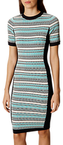 Karen Millen Micro Textured Dress, Multi