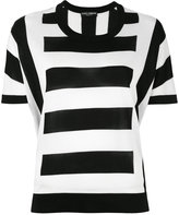 Dolce & Gabbana striped top - women - Silk - 40