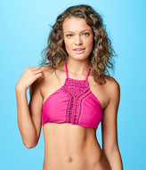 Cape Juby Macramé High Neck Halter Top
