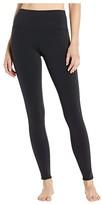 Alo High-Waist Line-Up Leggings (Black) Women's Casual Pants