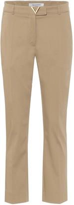 Valentino VGOLD stretch-cotton pants