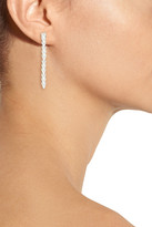 Eddie Borgo Silver-plated enamel earrings