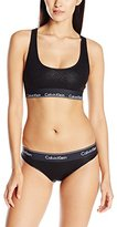 Calvin Klein Women's Modern Cotton Bralette and Bikini Set