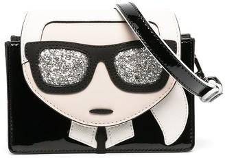Karl Lagerfeld Paris Ikonik shoulder bag