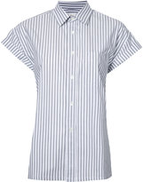 Golden Goose Deluxe Brand striped short-sleeve shirt - women - Cotton - M