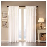 "Nobrand No Brand Laurie Bessie Horizontal Ruffle Curtain Panel - White (50""x84"")"