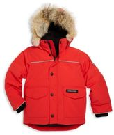 Canada Goose Toddler's & Little Boy's Fur-Trimmed, Down-Filled Parka