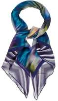 Matthew Williamson Abstract Print Woven Scarf