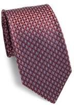 Corneliani Embroidered Silk Tie