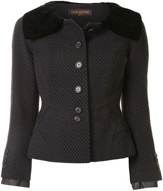 Louis Vuitton Pre-Owned Cinched Waist Jacket