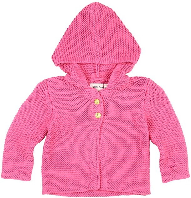 Juicy Couture Sweater (Infant) (Pink Topaz) - Apparel