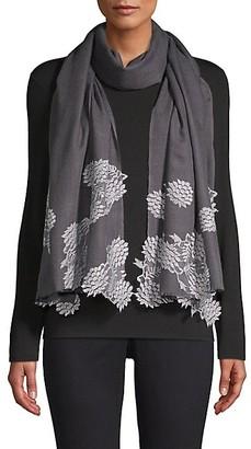 Bindya Evening Lace Wool & Silk Scarf