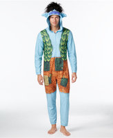 Briefly Stated Men's Trolls Hooded One-Piece Pajamas by DreamWorks Trolls