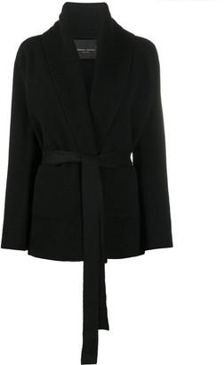 Roberto Collina Knitted Tie-Waist Jacket