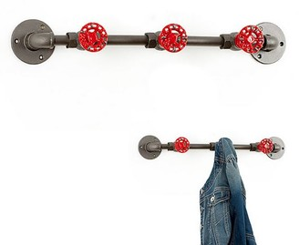 Balvi Gifts - Coat rack wall PIPE AND IRON TAP