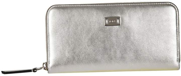 Tod's Logo Plaque Zip Around Wallet