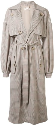 Ginger & Smart Imperial belted trench coat
