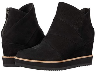 Eileen Fisher Clapton (Black) Women's Pull-on Boots