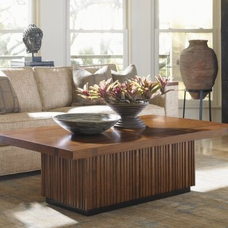 Tommy Bahama Island Fusion Solid Wood Block Coffee Table Home