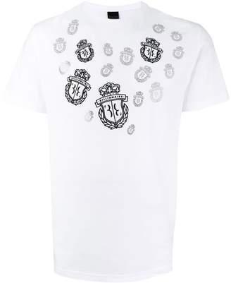 Billionaire logo crest T-shirt