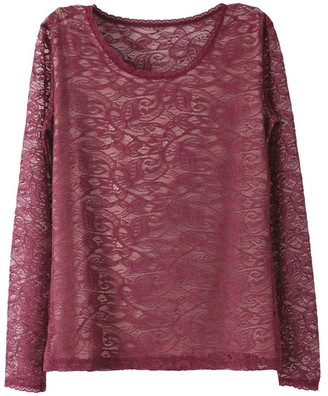 Pink Label Chloe Lace Top