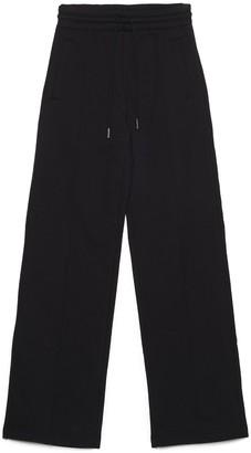 Off-White Puzzle Diagonal Wide Leg Sweatpants